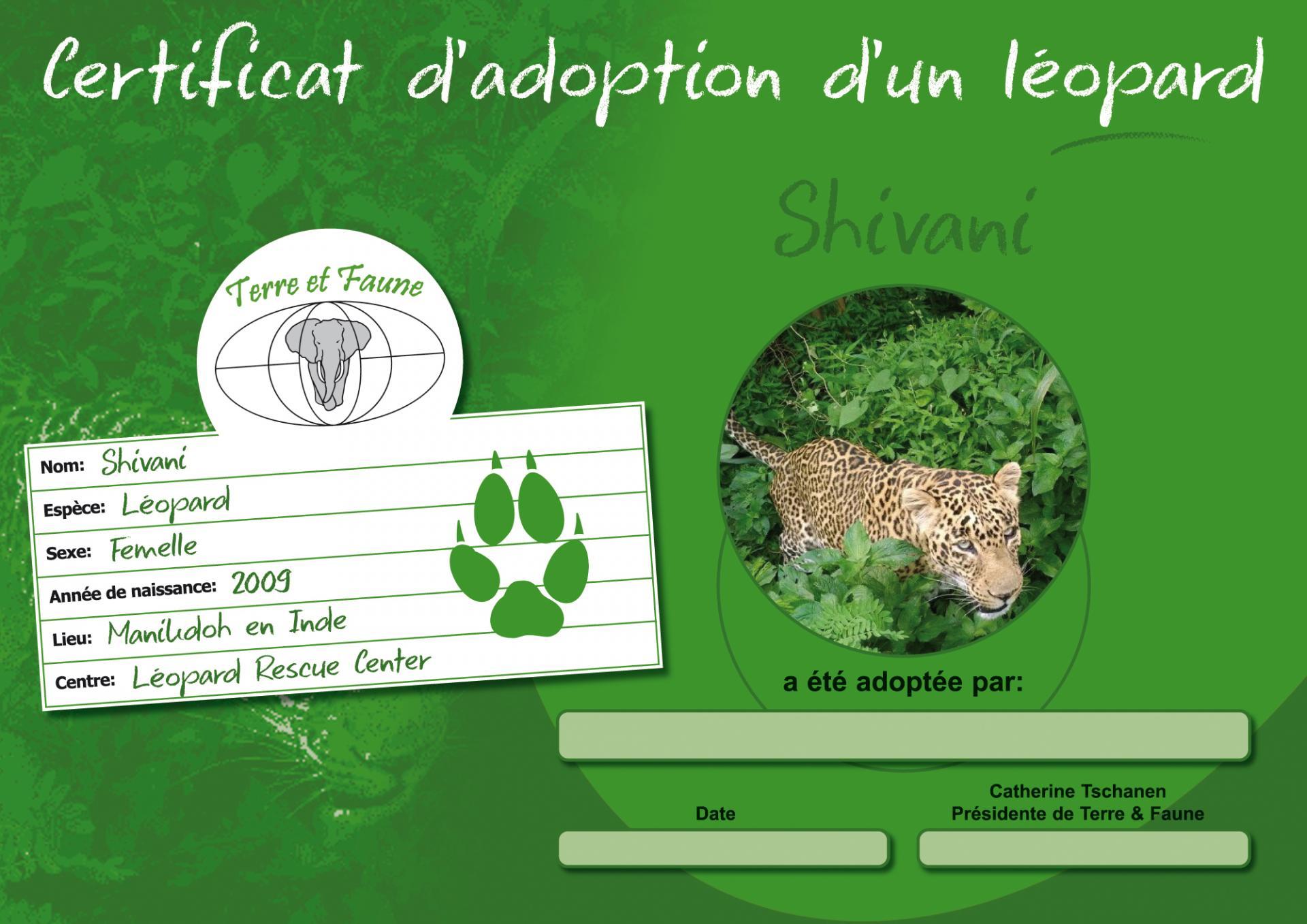 Parrainage Shivani