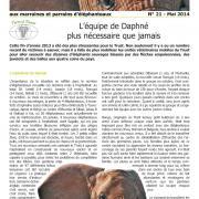 Journal des éléphanteaux 21