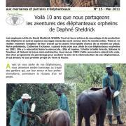 Journal des éléphanteaux 15