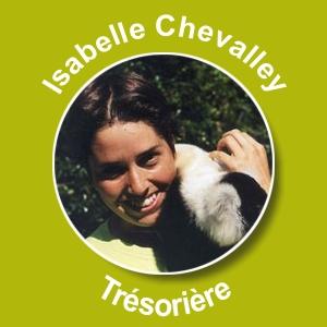 Isabelle Chevalley - Trésorière